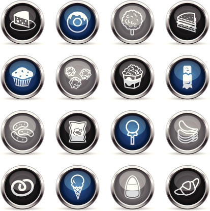 Supergloss Icons - Junk Food