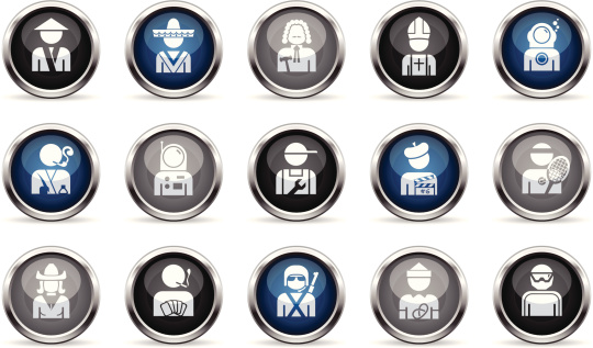 Supergloss Icons - Professions