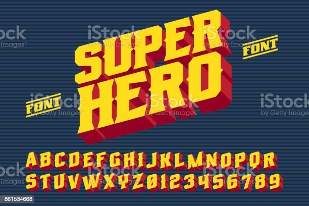 Superhero 3d vintage letters vector id861534668?b=1&k=6&m=861534668&s=612x612&h=yl1jta22apukavwfsrym8syxy 1jxrp7sm7wv1jzqfc=