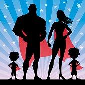 Superhero Family Boys