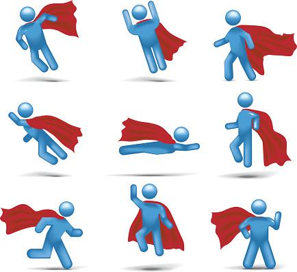 Superhero Flight: Stickman 2.0