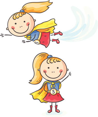 Superhero girl