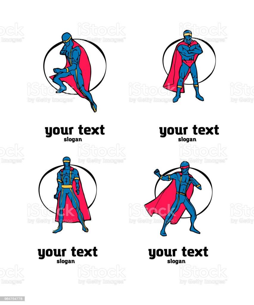Superhero icon set royalty-free superhero icon set stock vector art & more images of belarus