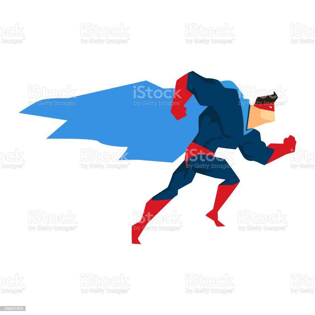 Superhero in Action, silhouette in different poses superhero in action silhouette in different poses – cliparts vectoriels et plus d'images de adulte libre de droits