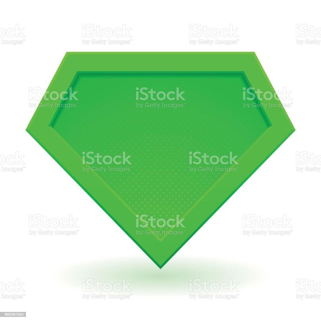 Superhero Logo Template stock vector art 665397034   iStock