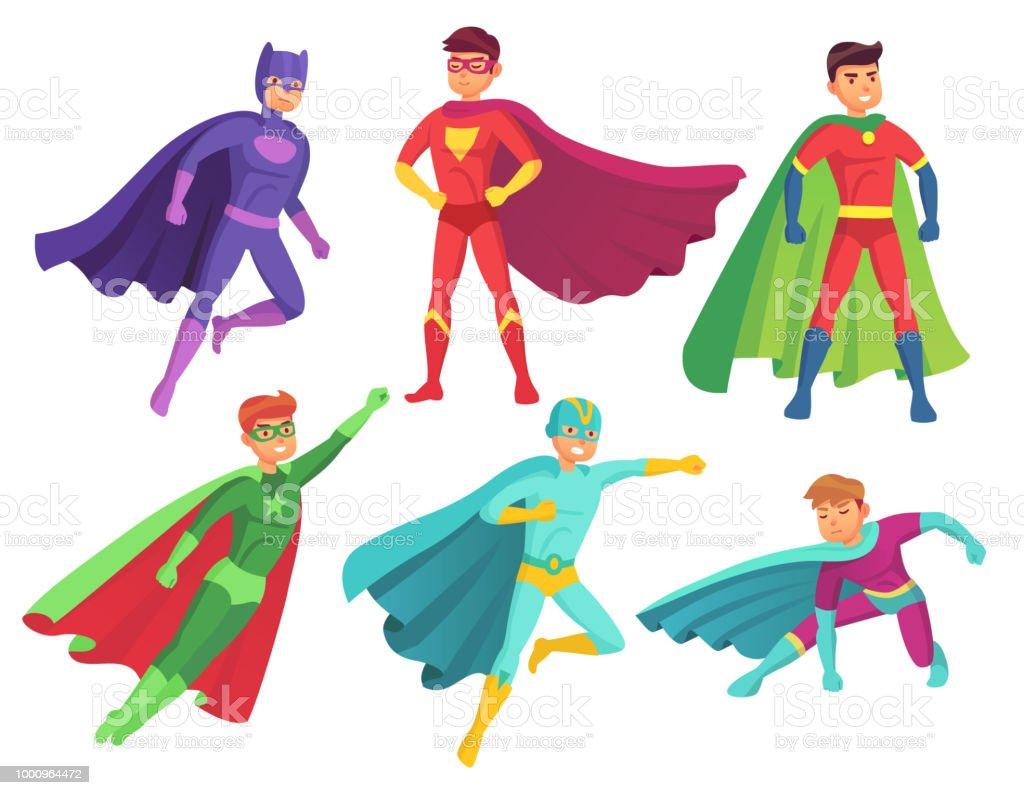 Animé Superhéros De Lhomme Dessin Héros Personnages Personnage wqIR55