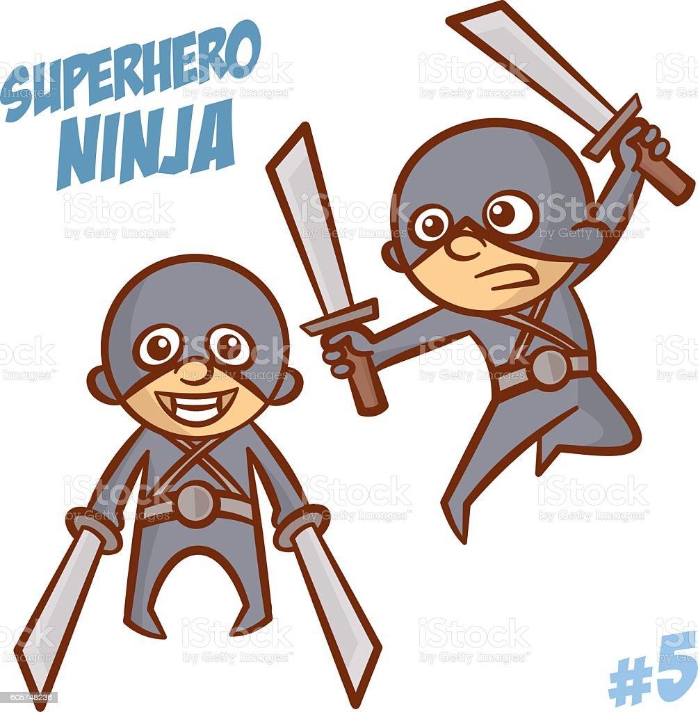 Superhero ninja boy clipart 605748236 istock superhero ninja boy clipart voltagebd Image collections
