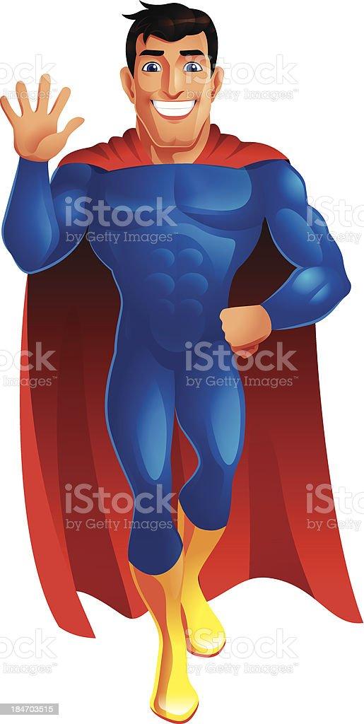 Superheld – Vektorgrafik