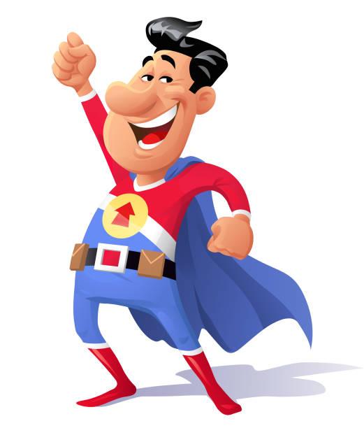 illustrations, cliparts, dessins animés et icônes de super-héros - modèles de bande dessinée