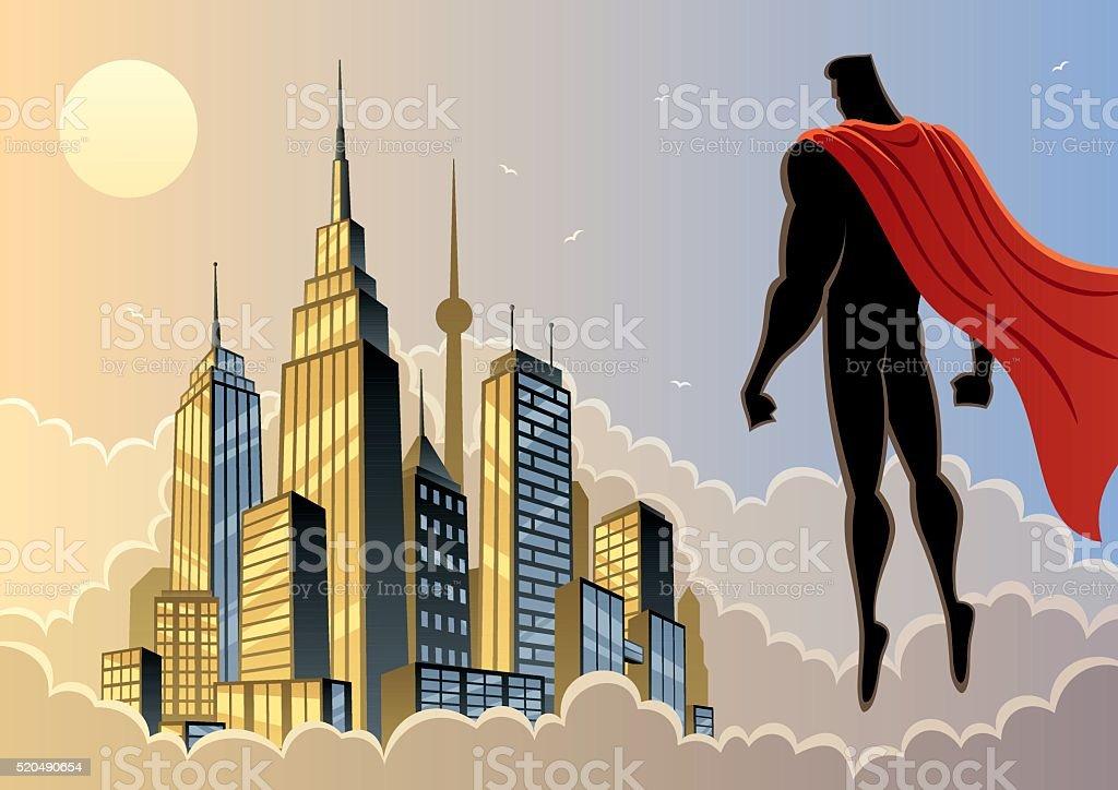 スーパーヒーロー 5 をご覧いただけます ベクターアートイラスト