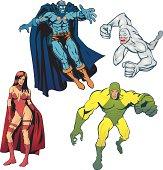 SuperHeroes Pack II