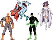 SuperHeroes Pack VI