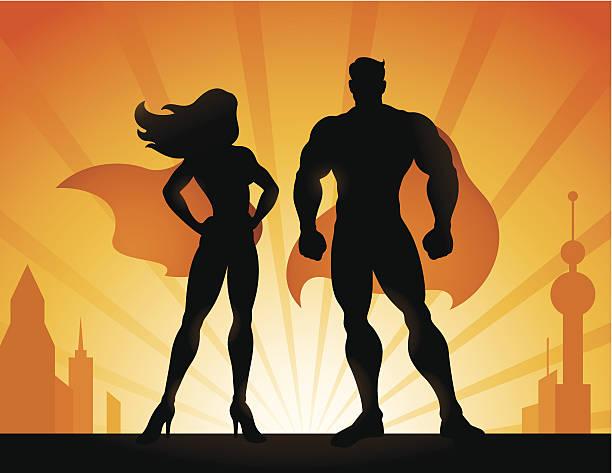 superhelden - superwoman stock-grafiken, -clipart, -cartoons und -symbole