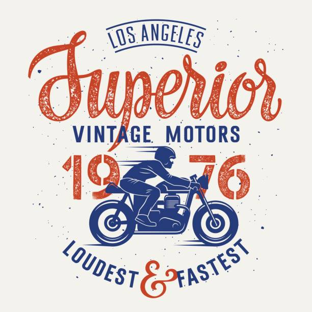 Best Cafe Racer Illustrations, Royalty-Free Vector Graphics