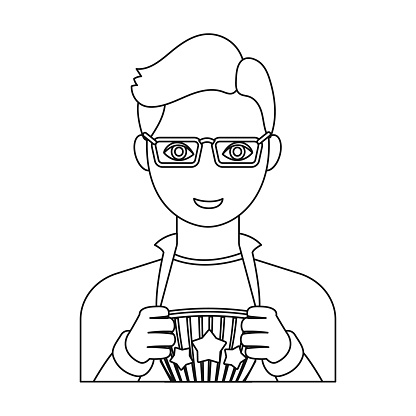 Superman Single Icon In Outline Style Superman Vector Symbol Stock Illustration Web - Arte vetorial de stock e mais imagens de Adulto