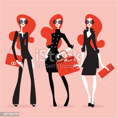 istock Supermodels (High Fashion) 165769133