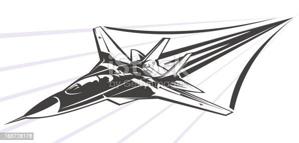istock Supersonic F-14 165728178
