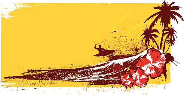 surf-abenteuer - graffiti schriftarten stock-grafiken, -clipart, -cartoons und -symbole