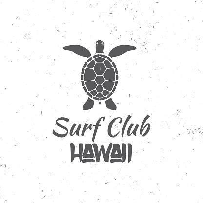Surf club concept.