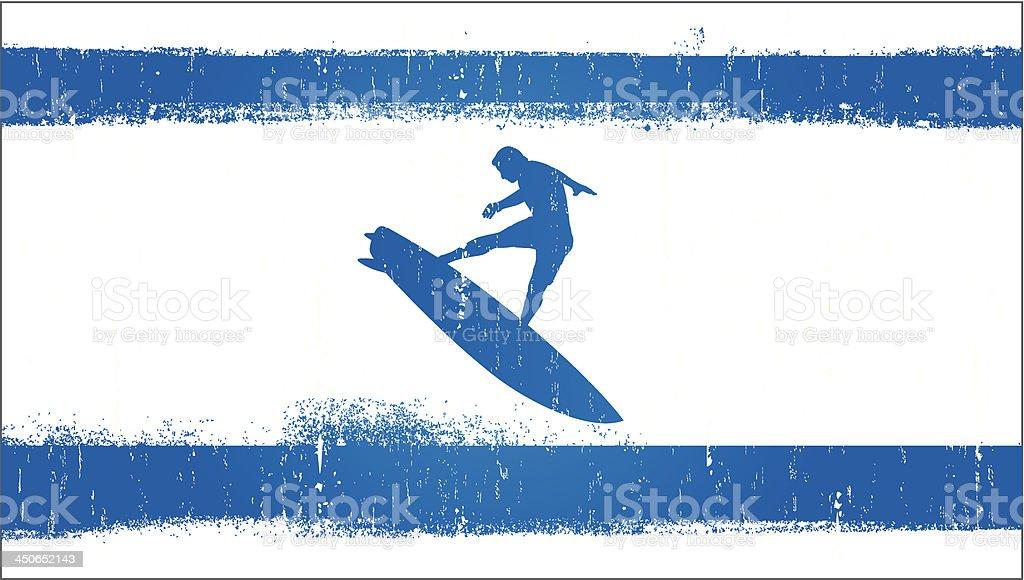 surf grunge flag royalty-free surf grunge flag stock vector art & more images of adult