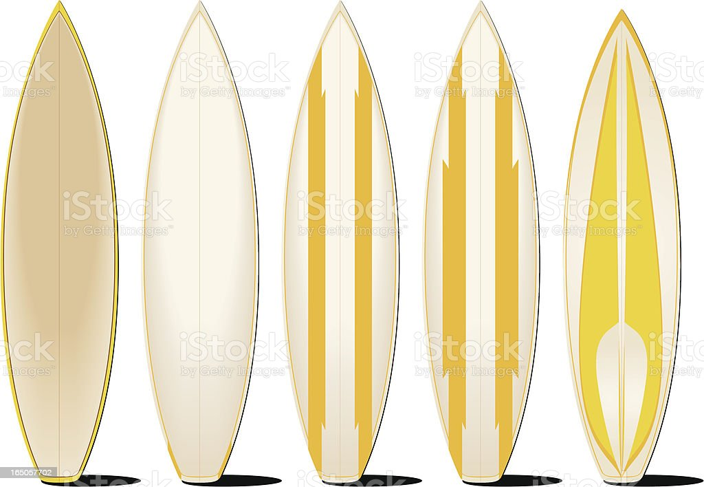 Surfboards royalty-free surfboards stock vector art & more images of adventure