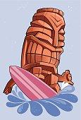Surfer Tiki