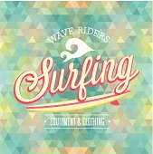 Surfing poster.
