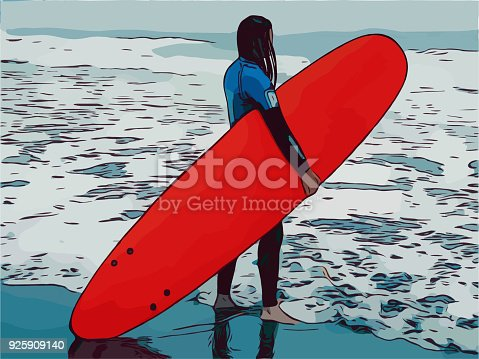 Free Surfer Girl Cliparts, Download Free Clip Art, Free Clip Art on Clipart  Library