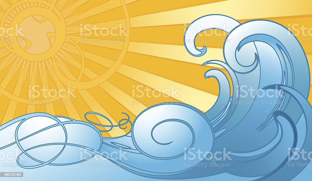 Surf's Up royalty-free surfs up stock vector art & more images of blue