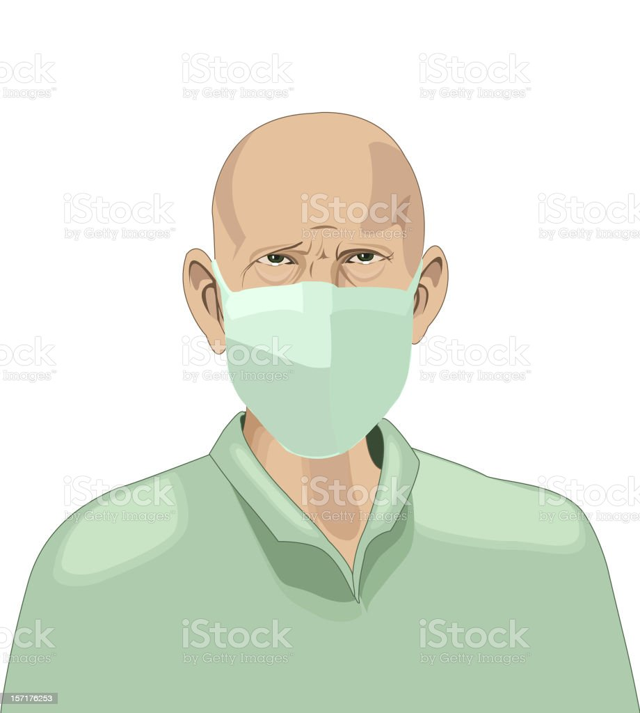 surgeon vector art illustration