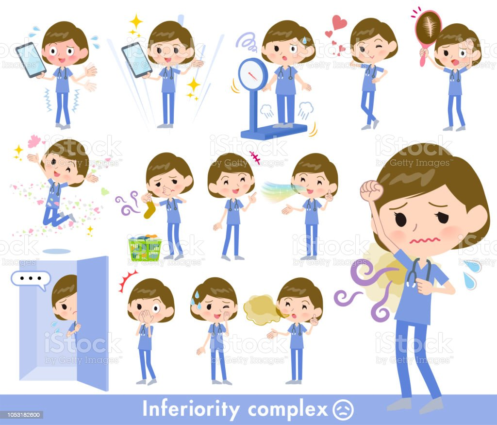 surgical operation blue wear women_complex vector art illustration