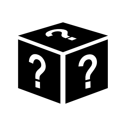 surprise mystery box icon