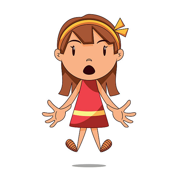 Royalty Free Shocked Kid Clip Art, Vector Images ...
