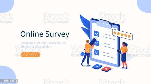 Survey — стоковая векторная графика и другие изображения на тему Анкета