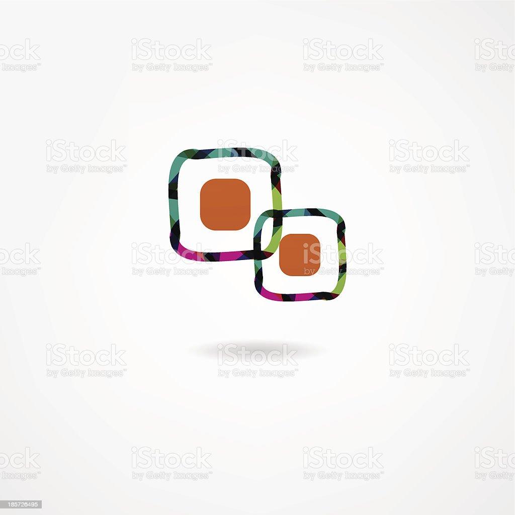 sushi icon royalty-free stock vector art