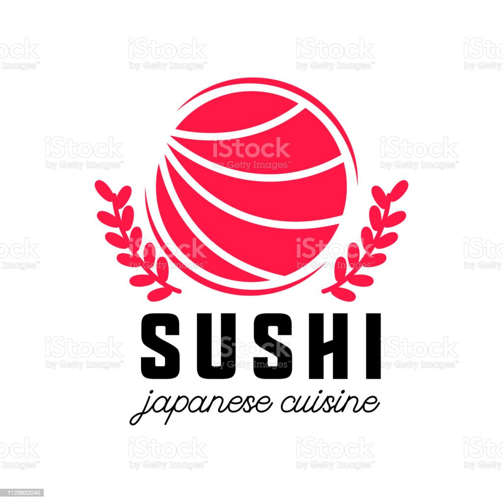 Sushi Japanese Food Icon Isolated On Transparent Background