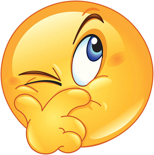 suspecting emoticon - verwirrtes emoji stock-grafiken, -clipart, -cartoons und -symbole