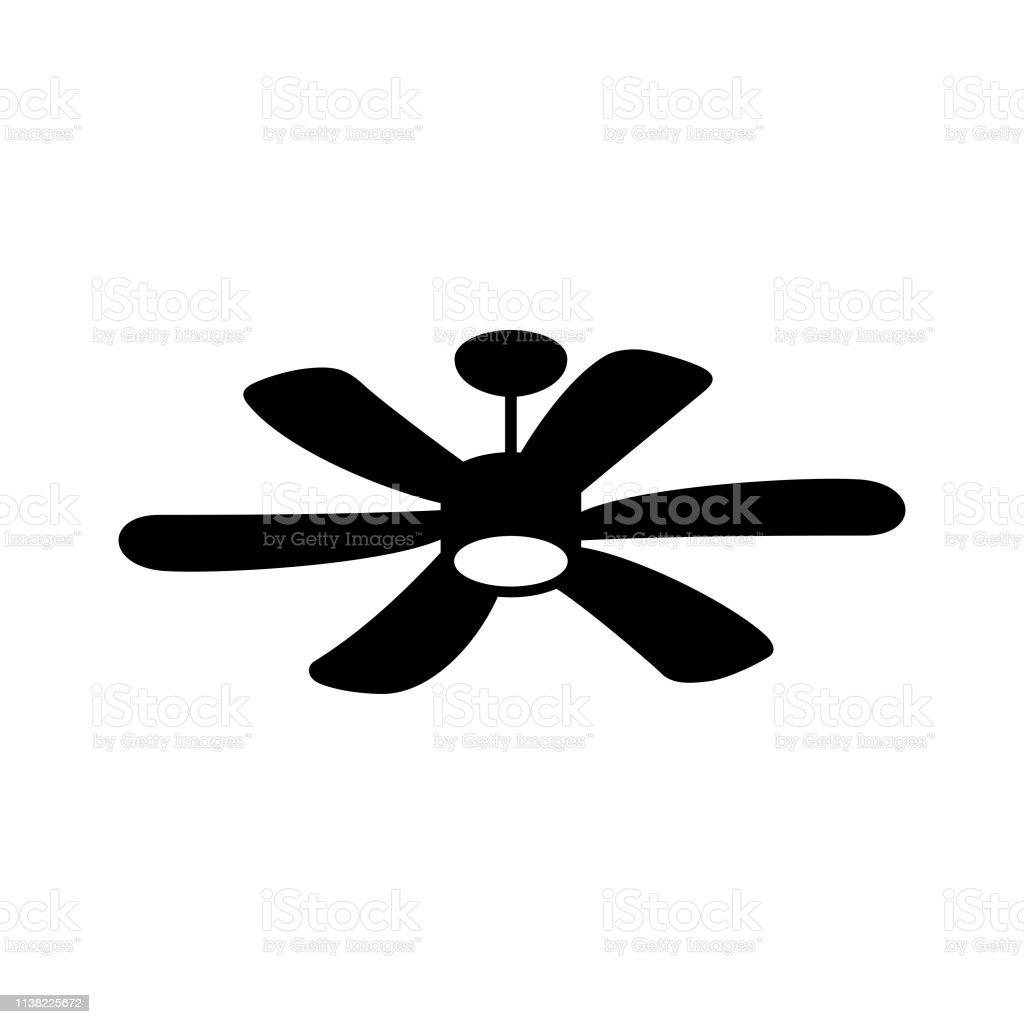Ventilateur De Plafond Suspendu Vecteurs libres de droits et plus d'images vectorielles de Carré Composition
