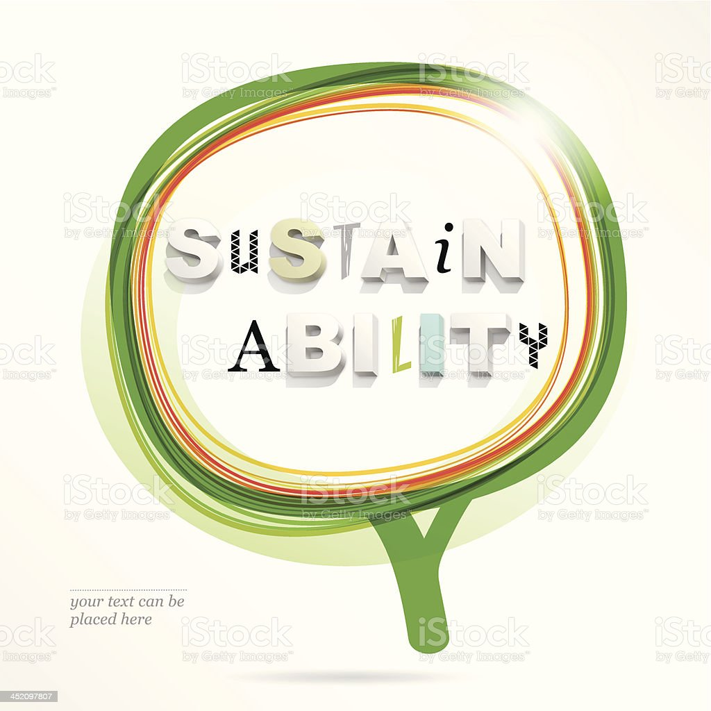 sustainability royalty-free sustainability stock vector art & more images of backgrounds