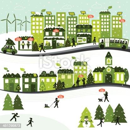 istock Sustainable Christmas City 451295873