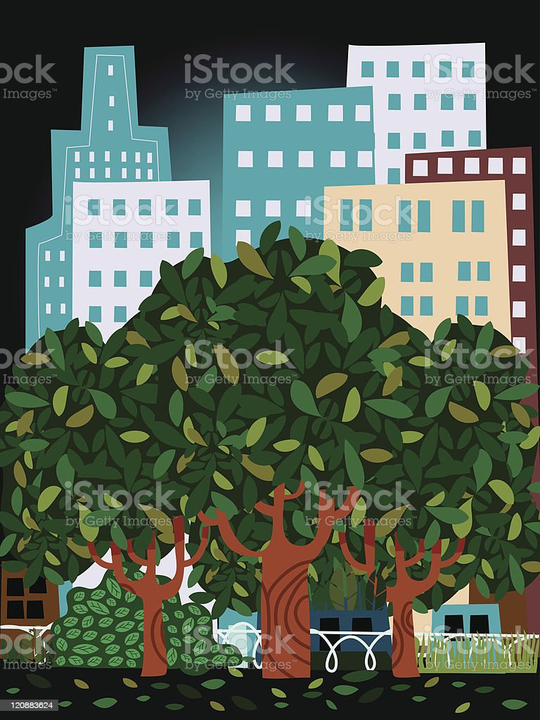 Sustainable city royalty-free sustainable city stock vector art & more images of apartment
