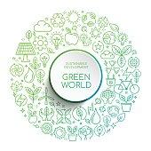 Sustainable Development Green World