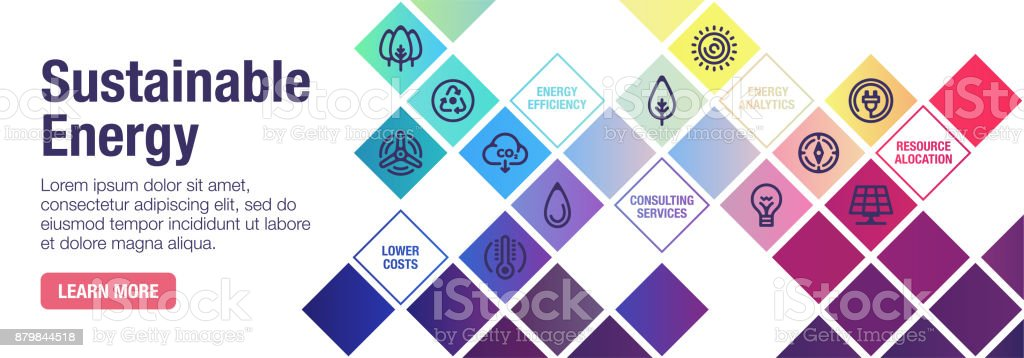 Sustainable Energy Banner