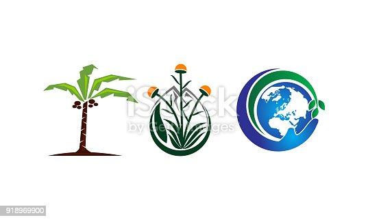 Sustainable Global Food Farming Garden Set