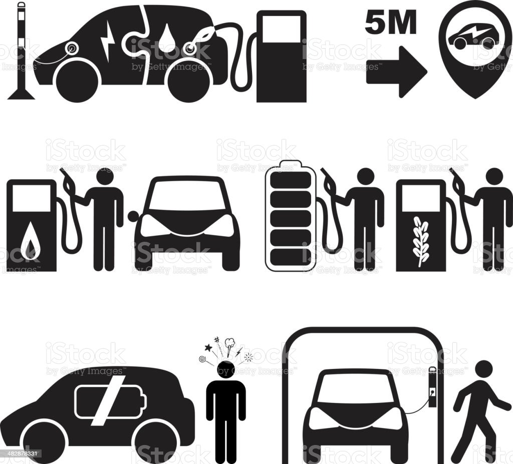 Sustainable Transport royalty-free stock vector art
