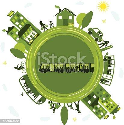 istock Sustainable Transportation 468960683