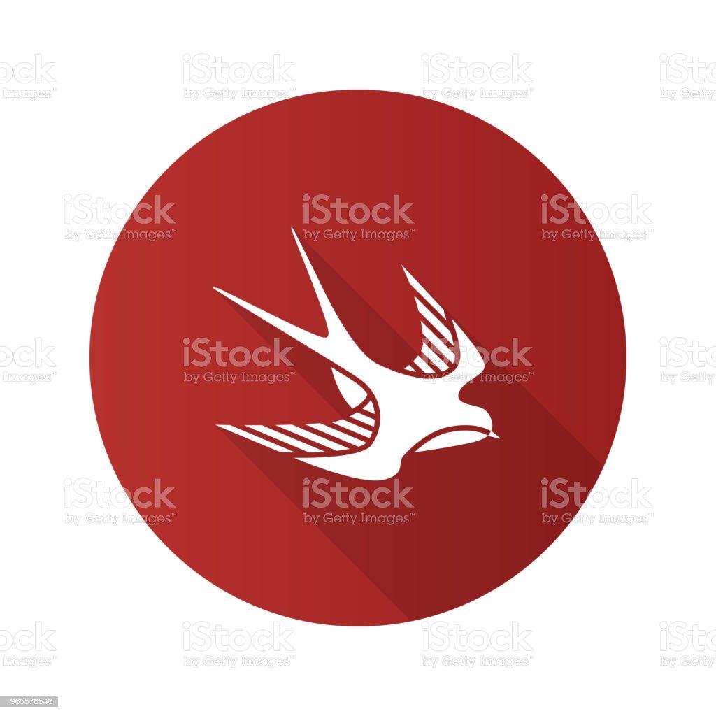 Swallow Bird Icon Stock Vector Art More Images Of Bird 965576546