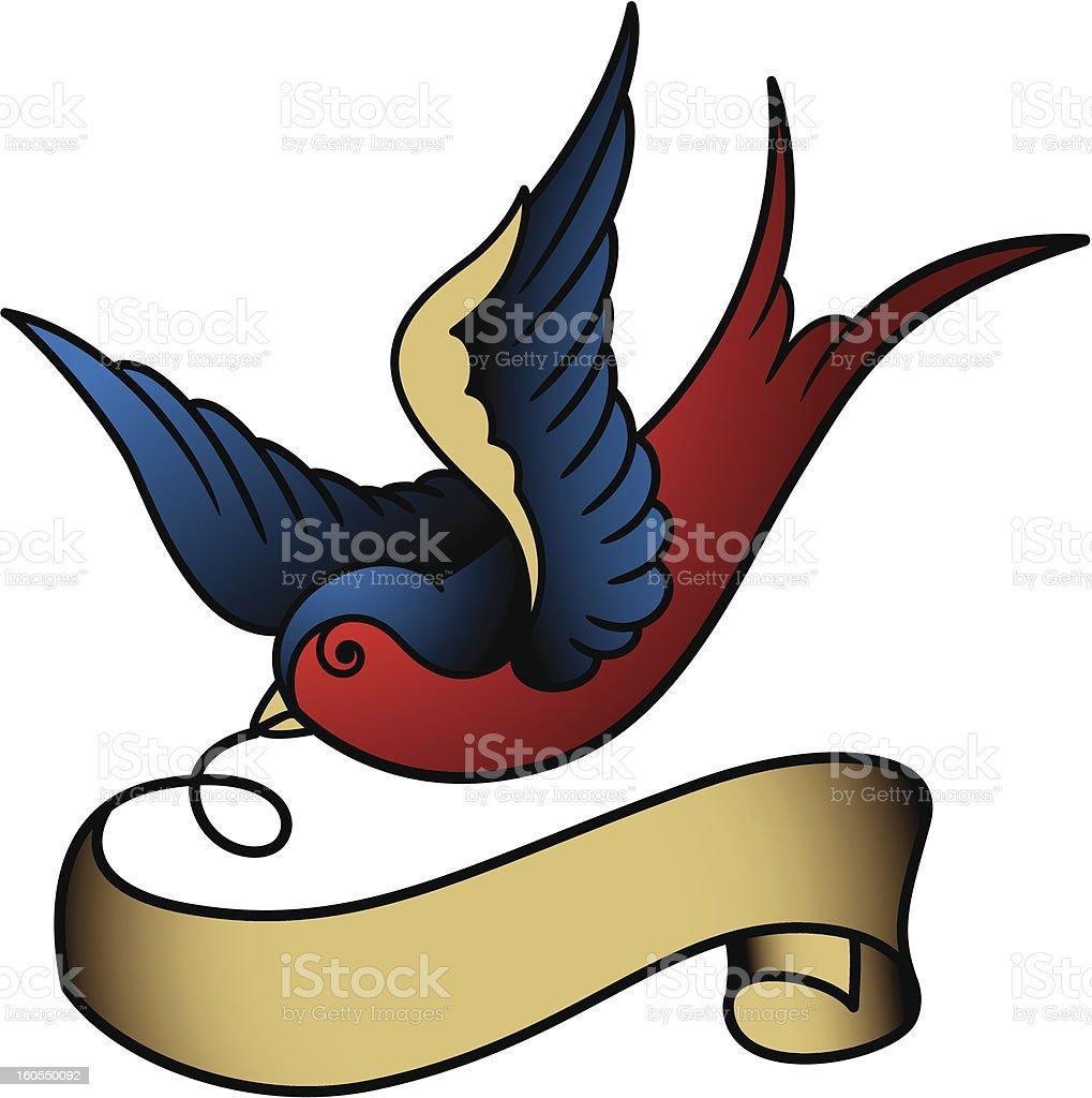 schwalbe tattoo stock vektor art und mehr bilder von fliegen 160550092 istock. Black Bedroom Furniture Sets. Home Design Ideas
