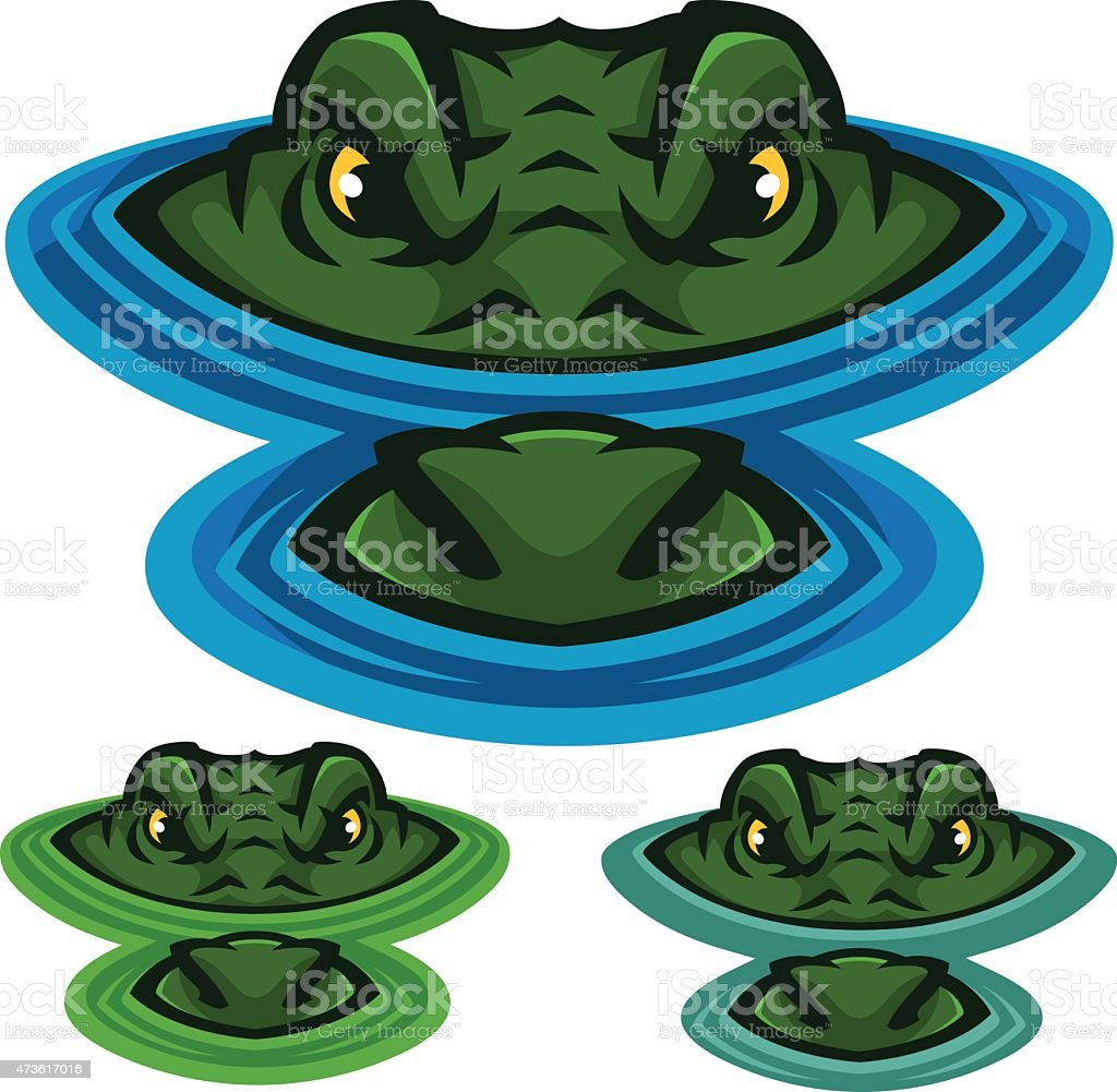 Swamp Alligator - Illustration vectorielle