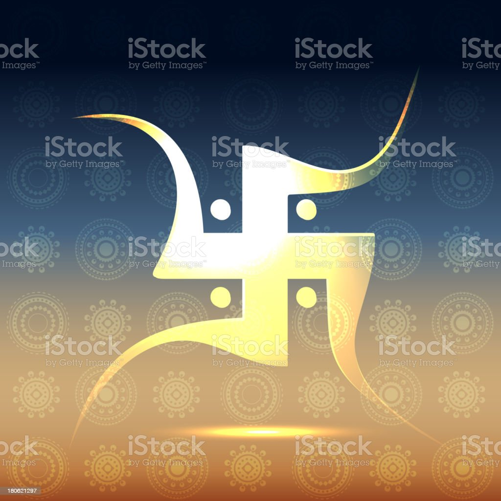 swastik symbol royalty-free stock vector art